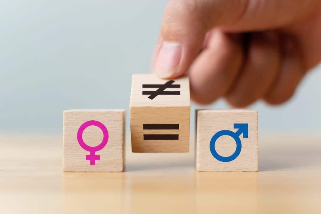 gender inequality - blocks