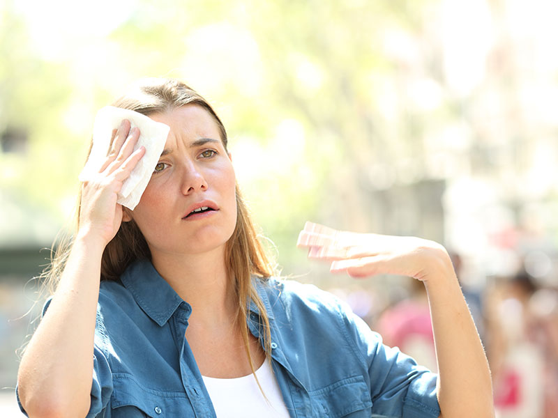 Excessive Sweating: Causes and Treatment