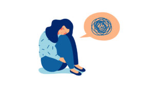 what is anxiety illustration